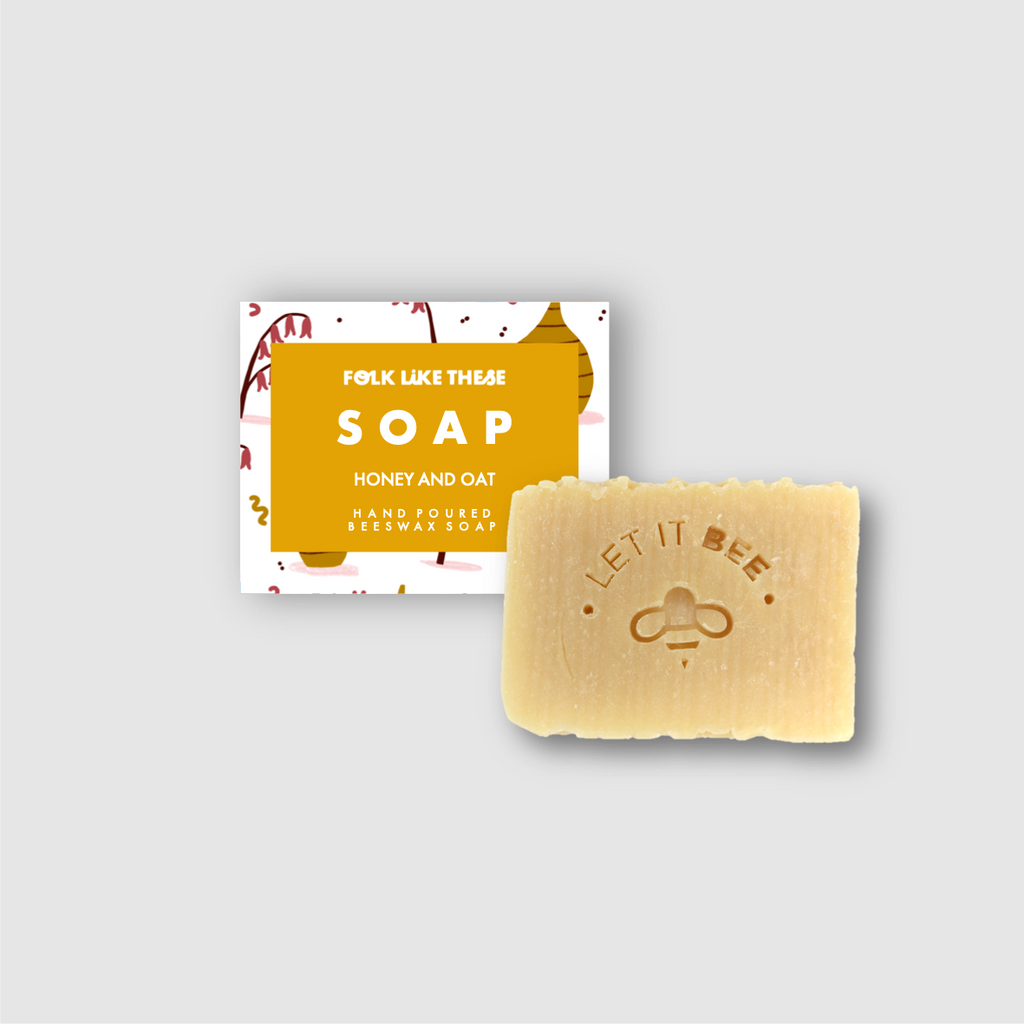 Beeswax Hand Poured Soap - Folk Like These