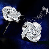 925 Sterling Silver Jewelry Sets with Crystal