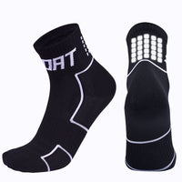 Unisex Solid Color Breathing Cycling Socks