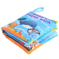 Educational Thematic Rattle Book Toy - zotmo