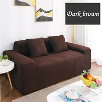 ZHUO MO waterproof sofa cover soft couch slipcovers plaid elastic spandex cloth home decoration for sofa plaid sofa cover