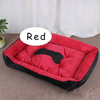 XS-XL Bone Pet Bed Warm Pet Bed For Small Medium Large Dog Soft Pet Bed For Dogs Washable House Cat Puppy Cotton Kennel Mat