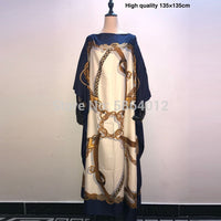 Kuwait Dashiki Dress Print Bohemia Hijab Loose Elegant Muslim Abaya Bazin Robe Gowns Broder Riche Sexy Lady Party maxi beach