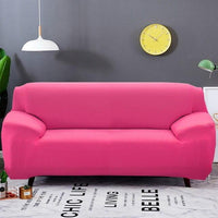 1/2/3/4seats Solid Color Elastic Stretch Sofa Cover Tight Package All-inclusive Non-slip Universal Couch Cover Sofa Slipcover - zotmo