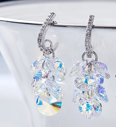 SL02    925 pure silver love lady Earrings lovers Earrings
