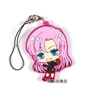 Shoujo Kakumei Utena / Revolutionary Girl Utena Original Japanese anime rubber mobile phone charm keychain strap