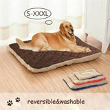 Soft Warm Dog Bed for Small Medium Large Dogs Cotton Breathable Cat House Kennel Puppy Sleeping Cushion Pet Supplies Two Sides
