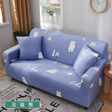 Elastic Stretch Slipcovers Sofa Sectional Sofa Cover for Living Room Couch Cover Single/Two/Three/Four Seat  0038