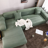 Thick Elastic Sofa Covers for Living Room Stretch  Couch Cover Sectional L Shape Sofa Slipcover Dog Pet Furniture Protector
