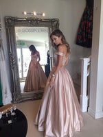 Evening Dresses Long Sexy A-line Sleeveless Off-Shoulder Sweetheart Party Gowns For Wedding Guest Formal Dresses 2018