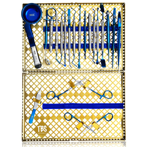 Gold Surgical Kit (21 Pack)