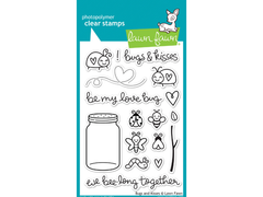 Lawn Fawn Bugs and Kisses Cling Stamp