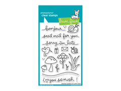 Lawn Fawn Gleeful Gardens Cling Stamp