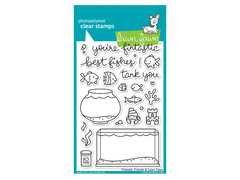 Lawn Fawn Fintastic Friends Cling Stamps
