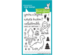Lawn Fawn Lovable Legends Cling Stamps