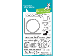 Lawn Fawn Loads of Fun Cling Stamp