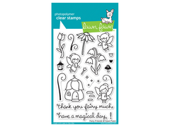 Lawn Fawn Fairy Friends Cling Stamps