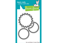 Lawn Fawn Sun and Moon Lawn Cuts