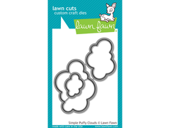 Lawn fawn simple puffy clouds Lawn Cuts