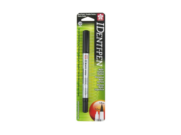 Sakura  Identi-Pen Blister Card Permanent Marker, Black