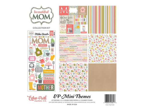 Echo Park Beautiful Mom Collection Kit