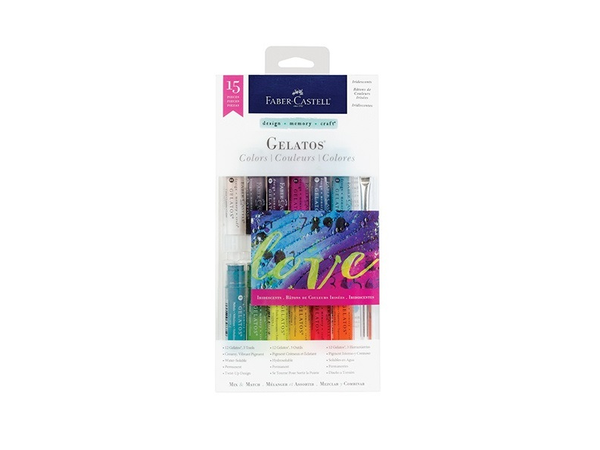 Faber Castell Gelatos Mix and Match Colors