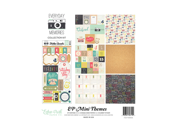 Echo Park Everyday Memories Collection Kit