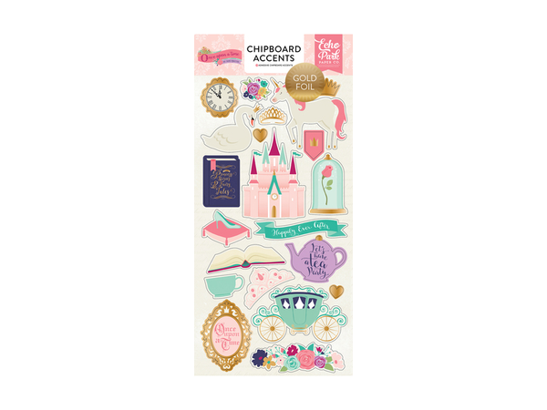 Echo Park Once Upon a Princess Collection Chipboard Stickers