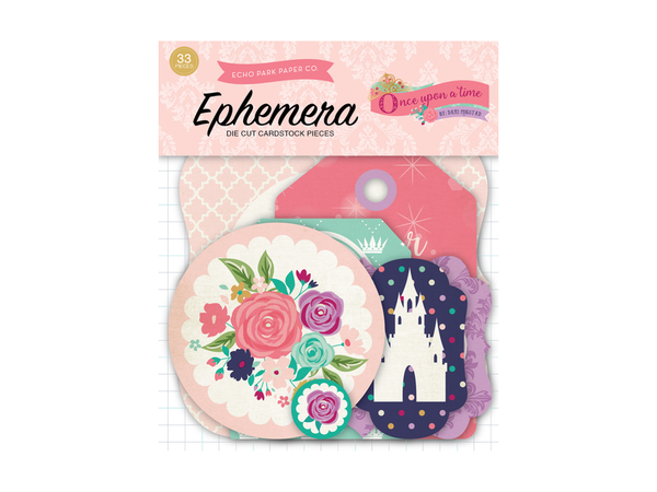 Echo Park Once Upon a Princess Collection Ephemera