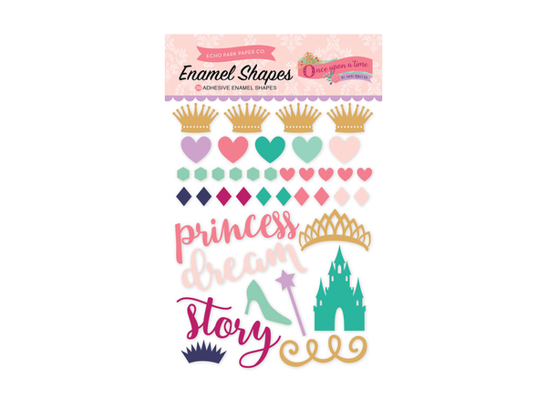 Echo Park Once Upon A Princess Collection Enamel Shapes