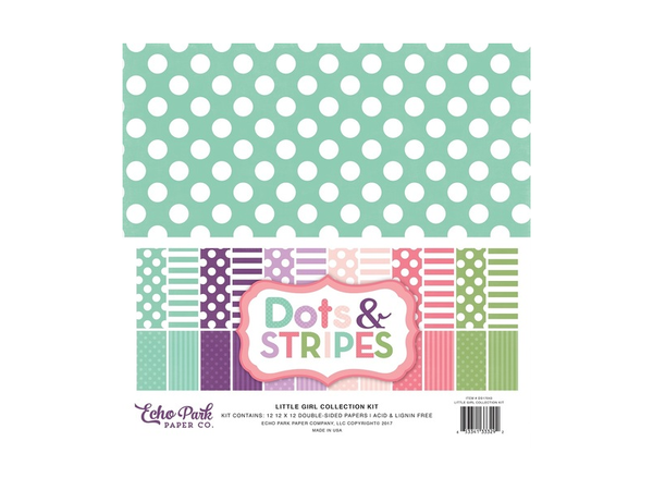 Echo Park Dots and Stripes Collection Kit