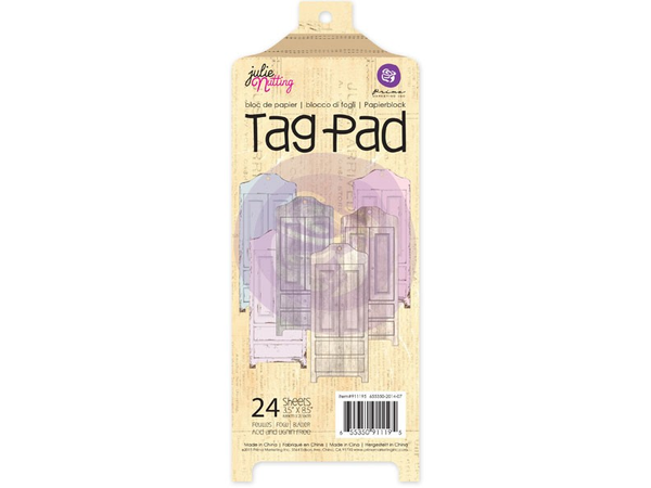 Prima Julie Nutting  Armoire Tag Pad