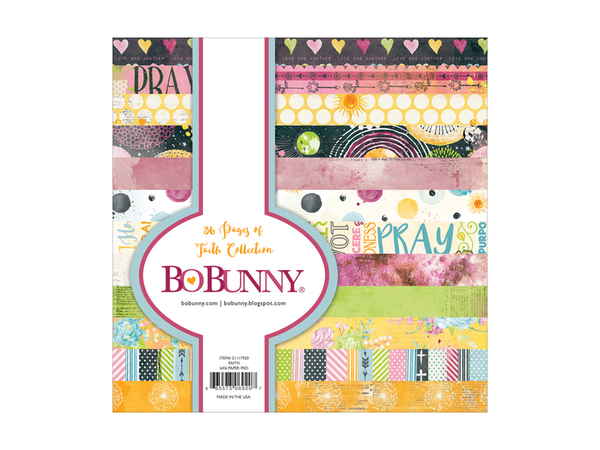 Bo Bunny Faith Collection 6 x 6 Paper Pad