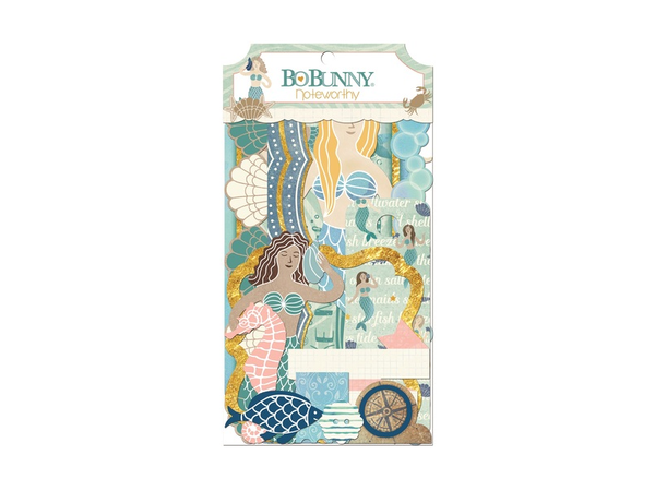 Bo Bunny  Down by the Sea Collection Noteworthy