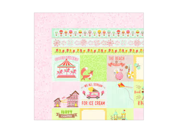 PRE- ORDER Bo Bunny Weekend Adventure Collection 12 x 12 Cardstock