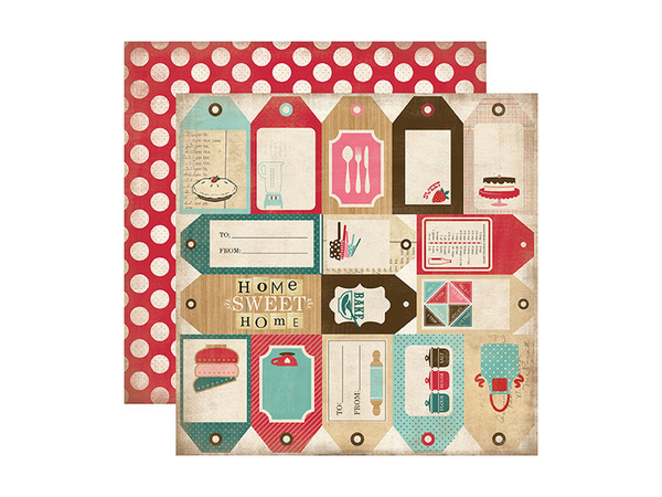 Carta Bella Home Sweet Home Collection 12 x 12 Card Stock