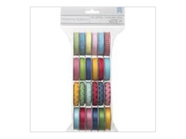 American Crafts Mayberry 24 Spools Value Pack Ribbon