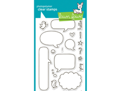 Lawn Fawn A Birdie Told Me Cling Stamp Set