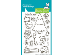 Lawn Fawn Critters in the Forest Cling Stamp