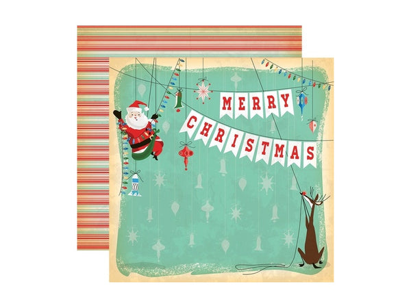Carta Bella A Very Merry Christmas Collection 12 x 12 Card Stock