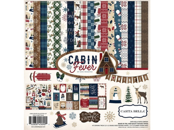 Carta Bella Cabin Fever Collection Kit