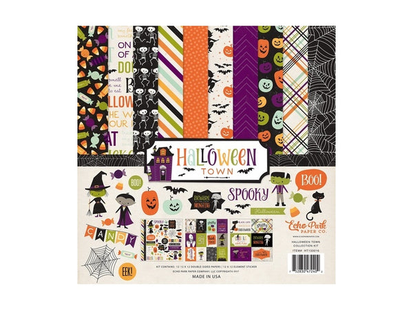 Echo Park Halloween Town Collection Kits