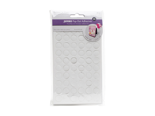 Forever in Time MultiCraft 3D Pop Dots Dual-Adhesive Foam Mounts