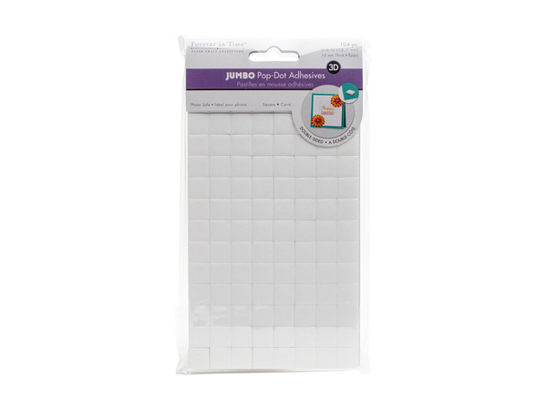 For Ever In Time MultiCraft 3D Pop Dots Dual-Adhesive Foam Mounts