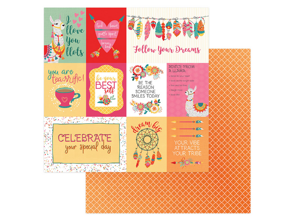 Photo Play Paprika Collection 12 x 12 Card Stock