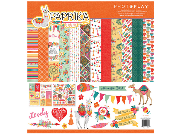 Photo Play Paprika Collection Kit
