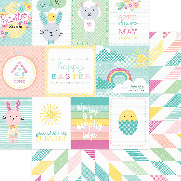 Photo Play Easter Blessings 12X12 Card Stock