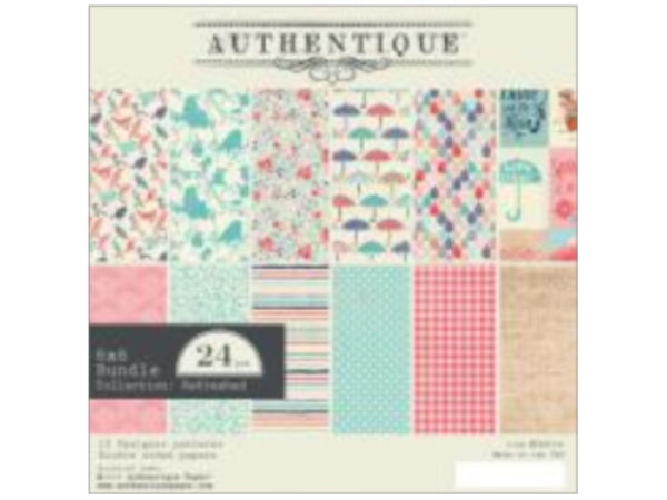 Authentique Refreshed 6X6 Paper Pad