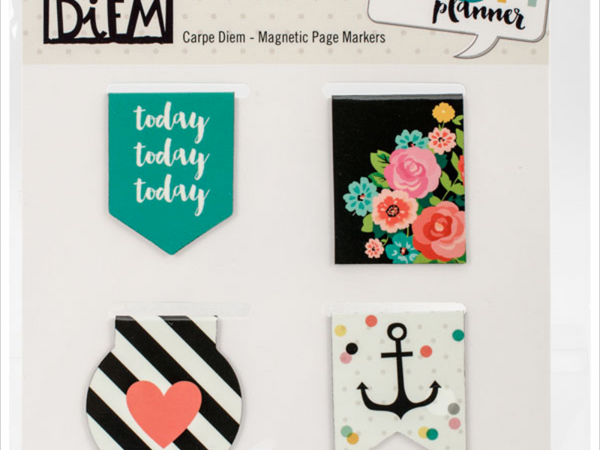 Simple Stories Carpe Diem Planner Collection Magnetic Page Markers