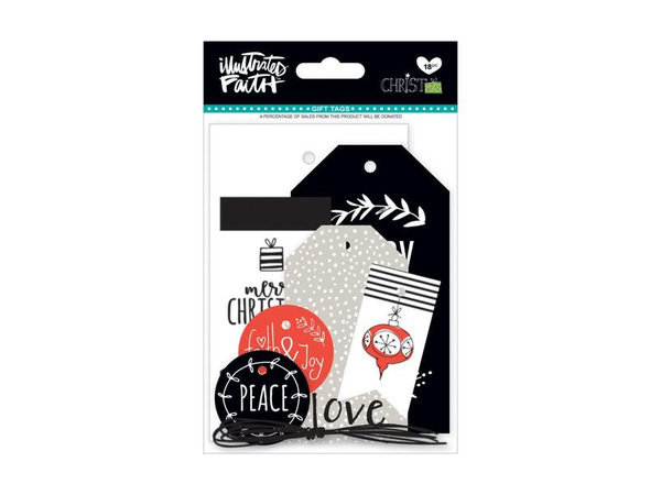 Bella Blvd Illustrated Faith Christmas Gift Tags
